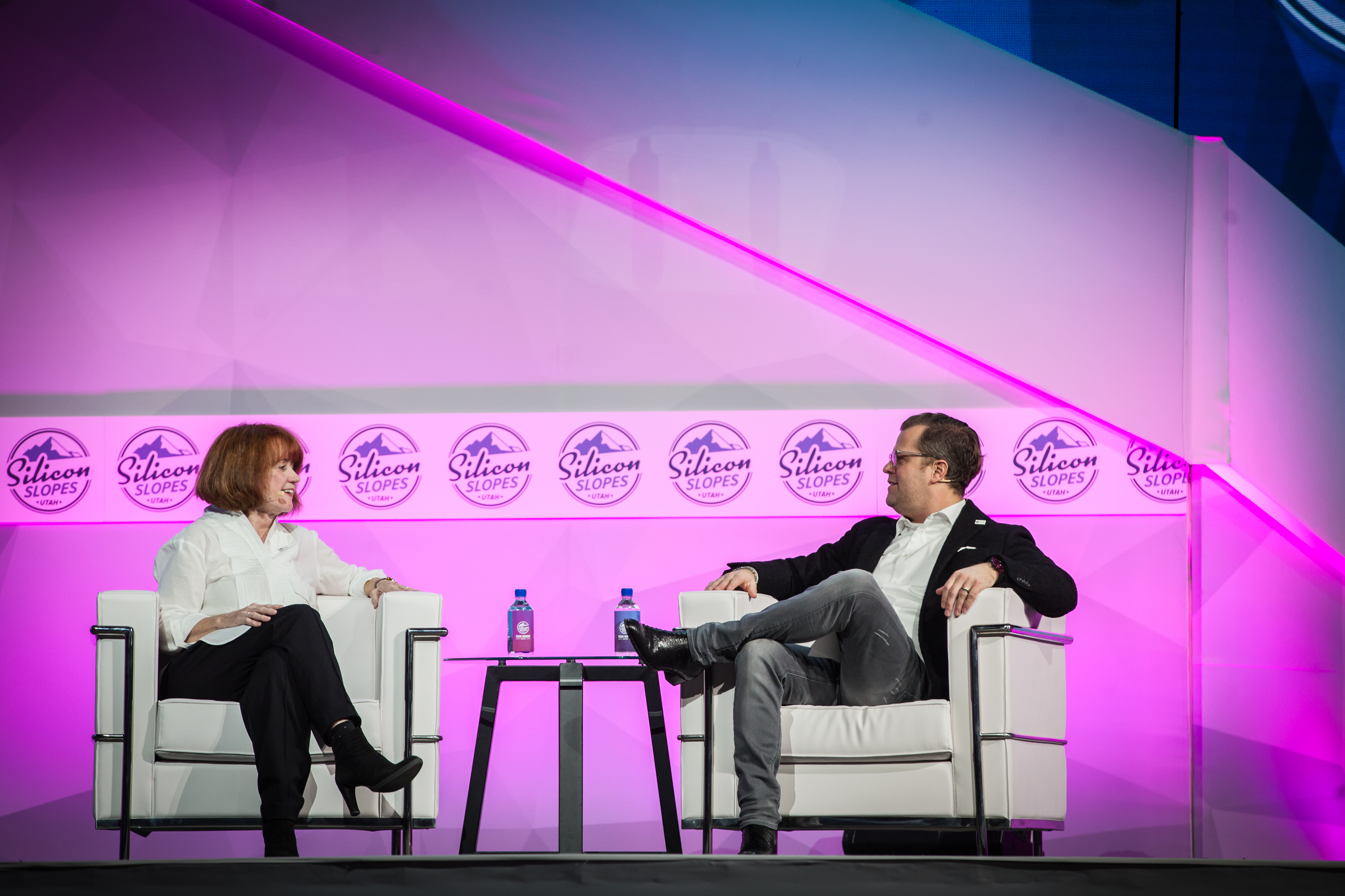 Cathrin Stickney and Josh James interview at Silicon Slopes