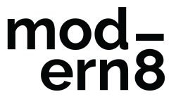 Modern8 logo
